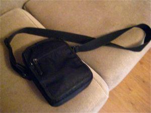 Trev's lovely manbag